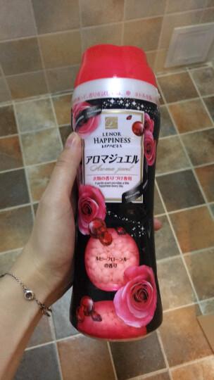 京东海外直采 宝洁(P&G)固体颗粒衣物柔顺剂 红宝石花香 375g 日本原装进口 晒单图