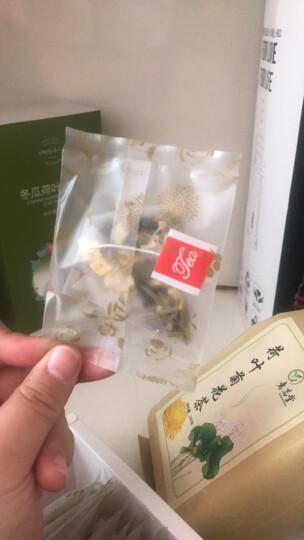 以美 冬瓜荷叶茶 养生茶 花茶 苹果花草茶干荷叶泡水喝60g(约20包) 晒单图