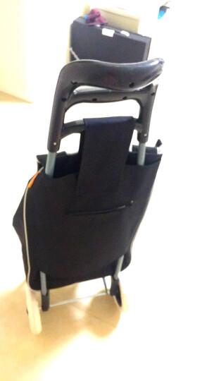 慧乐家 购物车 多功能便携小拉车 折叠超市手推车 黑色 22111-1 晒单图