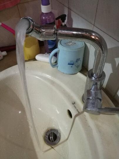 BSITN 波士顿卫浴面盆水龙头 冷热万向单孔龙头 卫生间厨房双用洗手盆龙头B8025 晒单图