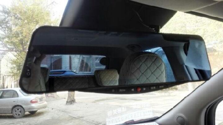 凌度蓝牙版后视镜行车记录仪7.0英寸超大蓝屏倒车影像前镜头大广角 标配+16G卡 奥迪A4L A6L Q5 Q3奔腾X80 B50 晒单图