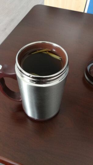 富光 茗派生态紫砂办公杯FGK-2049不锈钢外壳 紫砂内胆礼盒装杯子 400ml水杯 本色 晒单图