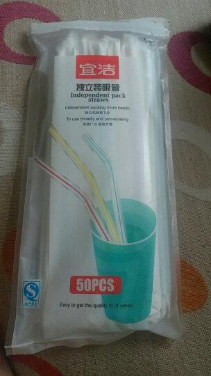 宜洁 吸管一次性卫生独立包装吸管250只量贩装JD-7060 晒单图