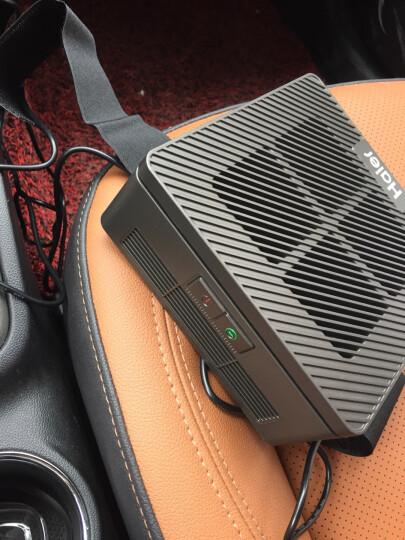 海尔(Haier)CJ05ALW 车载空气净化器 汽车负离子氧吧车载净化器滤网 3层复合滤网除甲醛杀菌PM2.5防雾霾 晒单图
