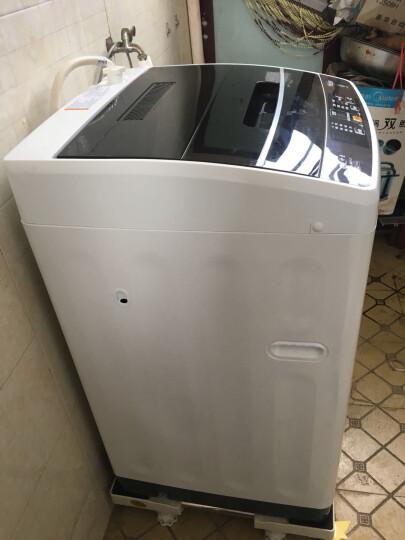 嘉沛 WA-330MixG 洗衣机底座 托架 移动固定增高两用 洗衣机架 冰箱底座(4固定移动脚)白色 晒单图