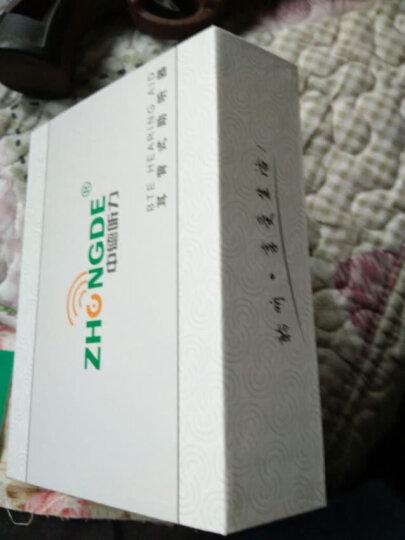 中德(zhongde) 中德助听器老年人隐形无线耳挂式入耳式耳聋耳背式耳道式 ZDB-100耳背式充电款 中高度听力损失使用 晒单图