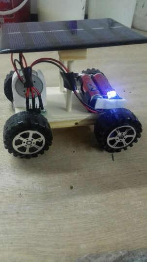小学生科学实验玩具儿童手工diy材料科技制作汽火车 飞机 电动模型 万花筒创意小发明 太阳能发电驱动车 晒单图