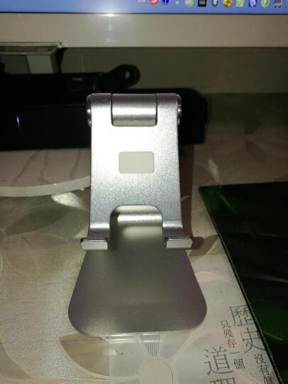 技光(JEARLAKON)JK-D03 懒人手机支架桌面平板电脑iPad支架 苹果通用铝合金手机直播架充电底座 香槟金款 晒单图