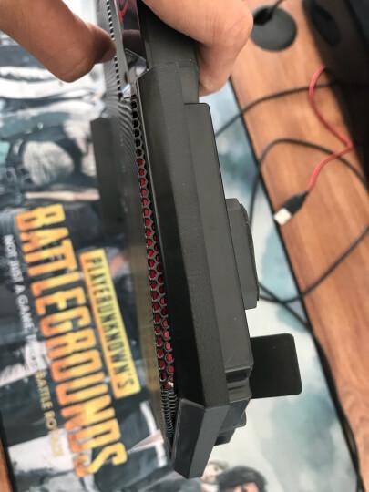 酷睿冰尊(ICE COOREL)K5 笔记本散热器支架 (电脑配件/笔记本支架/散热架/散热垫/适用15.6英寸以下) 晒单图
