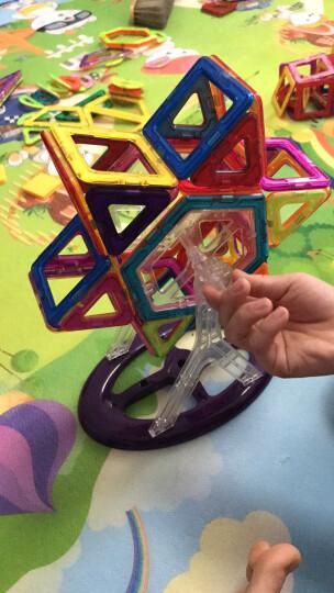 奥迪双钻(AULDEY)54件套超级飞侠百变提拉立体拼插益智儿童积木磁性建构磁力片积木玩具 晒单图