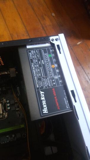 航嘉(Huntkey)额定450W JUMPER450S电源 (主动PFC/双管正激/宽幅电压/背部走线/高性价比) 晒单图
