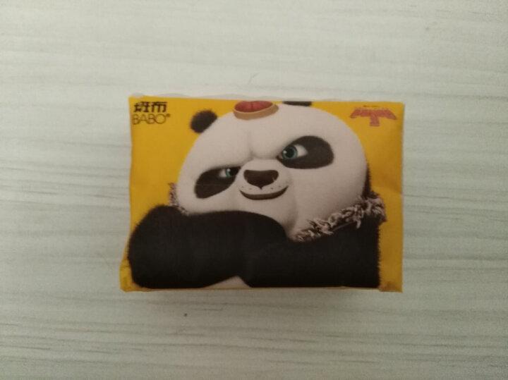 斑布(BABO) 功夫熊猫系列 卫生礼盒(3包抽纸+2卷有芯卷纸+20包手帕纸+3包正方巾)(本色抽纸 无漂白竹浆) 晒单图