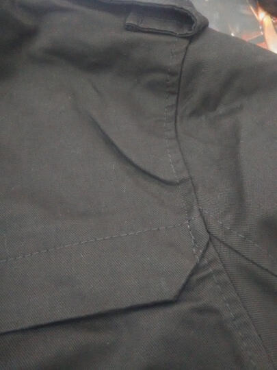 杰森迪亚 夹克男春款潮修身型立领男士机车pu皮衣休闲外套男装 黑色薄款 XXXL 晒单图