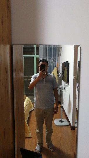 柒牌男装短袖T恤POLO衫男休闲翻领棉t恤112T50240 灰绿 175/92A(L) 晒单图