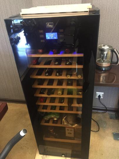 蒂朵(Diduo) BJ-508红酒柜恒温酒柜子家用压缩机葡萄酒茶叶冷藏保鲜冰箱冰吧冰柜小型储藏柜 黑色A型 晒单图
