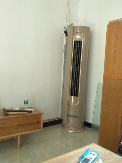 立式空调3匹p奥克斯立式空调2匹p柜机一级变频冷暖智能APP控制 圆柱型立柜式空调柜机 倾国倾城 大3匹变频一级72LWBpR3AHA800(A1) 晒单图