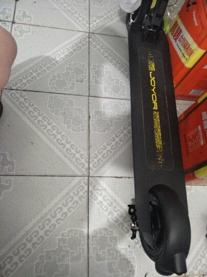 九悦F5炫酷黑36V18AH/55-60KM/前后尾灯/智能仪表/超长续航/电动滑板车/折叠自行车/电动车/折叠车 晒单图