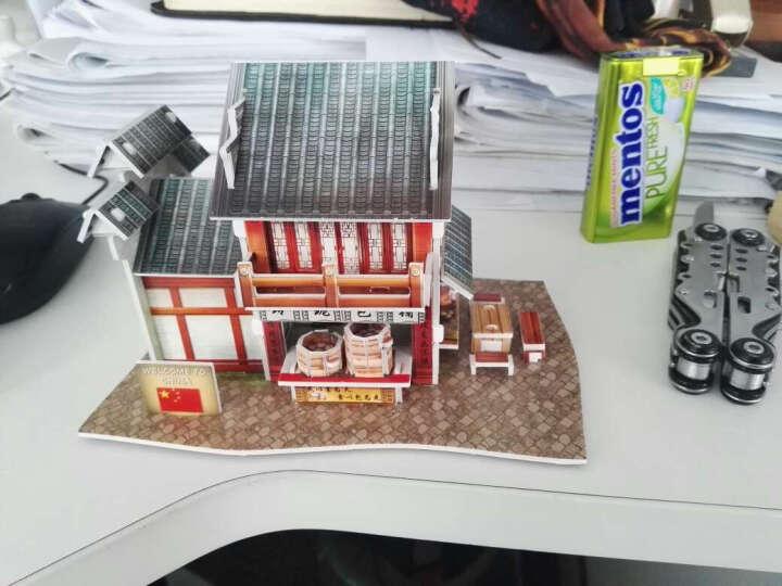 乐立方3d立体拼图纸模型建筑模型中国世界风情手工diy小屋小房子别墅益智玩具礼物礼品 韩国风情-韩国民居 晒单图