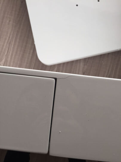 恋维斯 现代烤漆圆角茶几时尚简约2012客厅创意白色长方形茶桌子 1.2烤漆无抽 晒单图