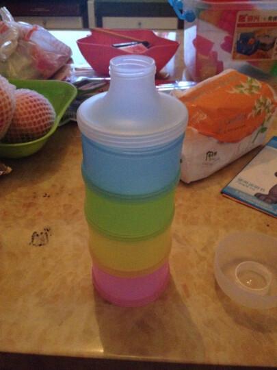 凯德氏(kidsmile) 凯德氏婴儿4层大容量奶粉盒宝宝便携奶粉盒奶粉罐零食盒 奶粉盒 晒单图