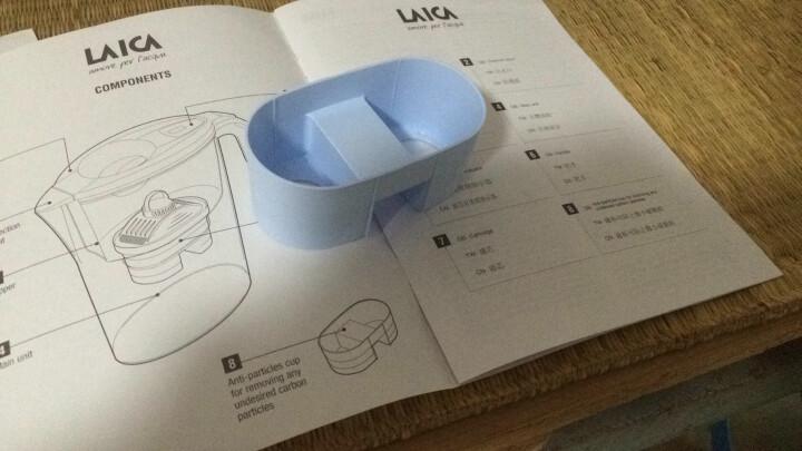 莱卡(LAICA)过滤净水器1壶4芯 J432H-BM矿物质平衡免掀盖双导流2.3L 母婴级健康净化家用滤水壶净水壶 晒单图