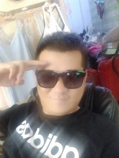 皓顿(HAUTTON)太阳镜男女款偏光墨镜男士眼镜时尚潮流遮阳强光TYJ16复古黑灰镜片 晒单图