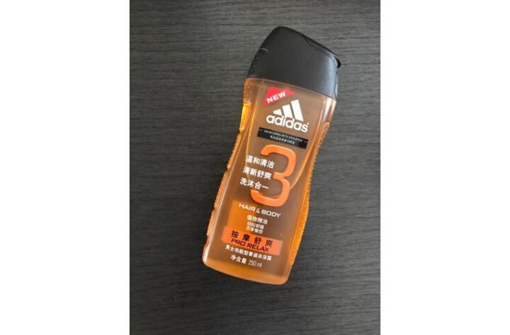 阿迪达斯(Adidas)男士清新酷爽香波沐浴露250ml 洗发沐浴露洗沐二合一活力运动持久留香 晒单图