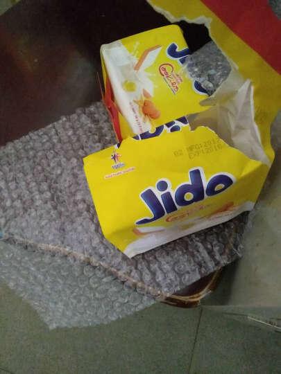 面包干饼干进口Jido面包干300g 越南特产榴莲饼干牛奶饼干蛋糕 鸡蛋味面包干90gx3包 晒单图