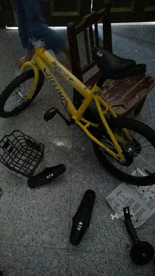 杰里米(Jielimi) 男女童车儿童自行车14寸16寸带辅轮 3/6/8岁小学生单车 新款红色18寸 晒单图