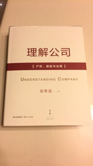 理解公司:产权、激励与治理 晒单图