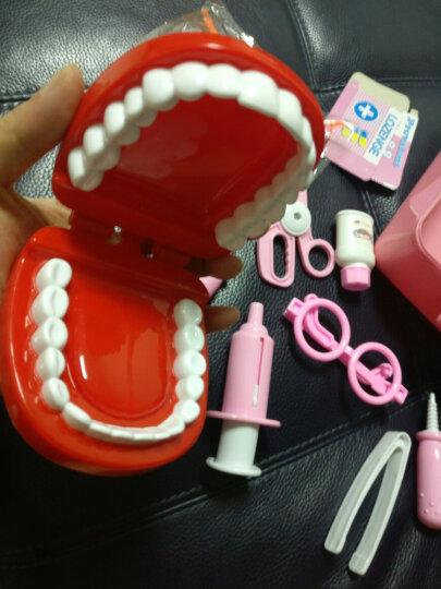 克雷格(KELEIGE) 儿童医生玩具套装仿真大号女孩护士听诊器医生手提箱 角色扮演医生 蓝色手提箱 晒单图