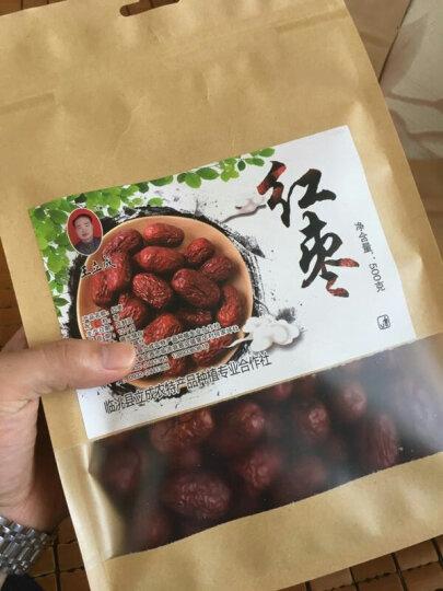 王立成  新疆灰枣 珍珠枣 大枣  红枣4钻500g/袋 晒单图