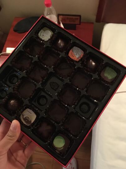 【顺丰配送】魔吻(AMOVO)夹心黑巧克力礼盒装情人节手工生日礼物送女友礼品顺 晒单图