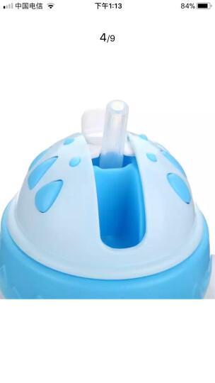 乐儿宝(bobo)宝宝学饮杯 吸管杯儿童水杯水壶(260ml粉色) 晒单图