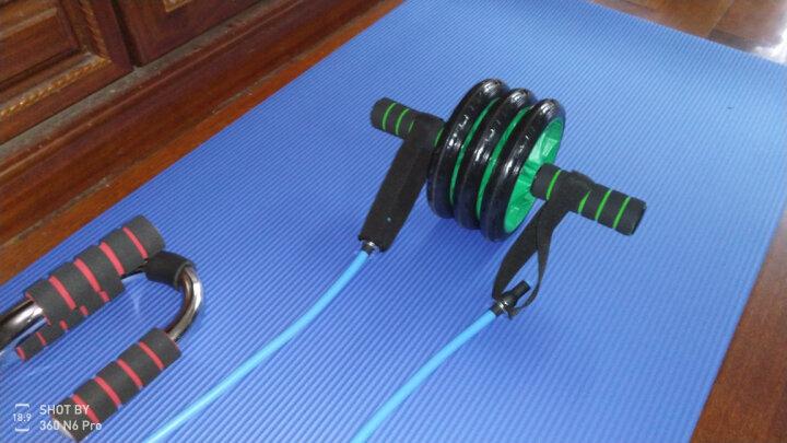 健腹轮腹肌轮锻炼腹肌器材男士健身家用回弹卷腹轮滚轮腹健轮 三轮静音防滑+俯卧撑+回弹绳+瑜伽垫【收藏送跪垫】 晒单图