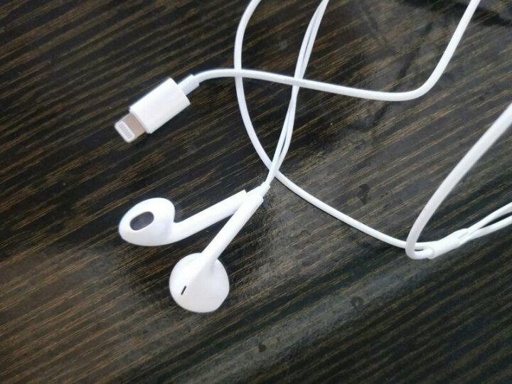 【秒杀中】三力浦 入耳式耳机适用苹果7/iphone7/8/x/6s plus/ipad线控耳塞 扁头lightning接口适用果7/8/X手机 晒单图