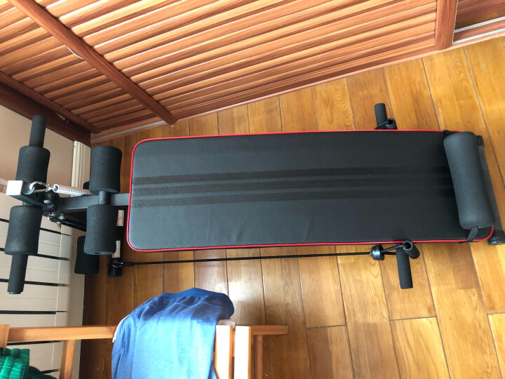 多德士 DDS 多功能仰卧板 家用运动健身器材 仰卧起坐健身板踢腿腹肌板 TK121 晒单图