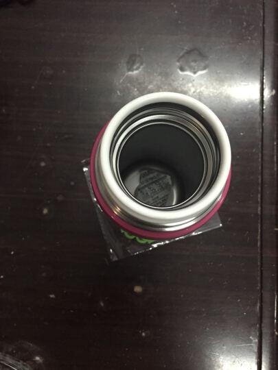 清水不锈钢保温杯焖烧杯 女士时尚便携防漏杯子儿童学生水杯 汤粥焖烧壶饭盒6822/6821 枚红色 保温杯6821 (300ml) 晒单图