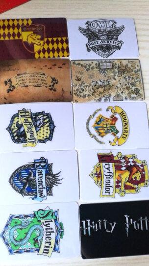 哈利波特火车票四学院徽章卡贴 套装(每套10张) 晒单图
