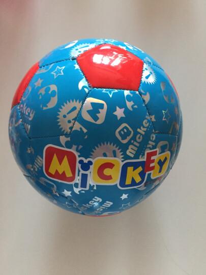 迪士尼儿童3号足球拍拍球 幼儿园小孩男孩女孩玩具球 送打气筒气针网兜 托马斯蓝色 3号 晒单图