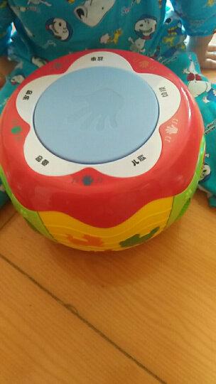 蕊芯儿童鼓玩具拍拍鼓婴儿音乐拍拍鼓可充电益智3个月--5岁启智婴幼儿儿童玩具 灯光敲鼓乐器 触摸生肖动感拍拍鼓( 可充电) 晒单图
