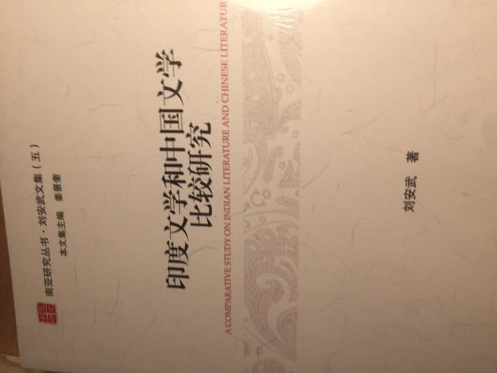 印度文学和中国文学比较研究 晒单图