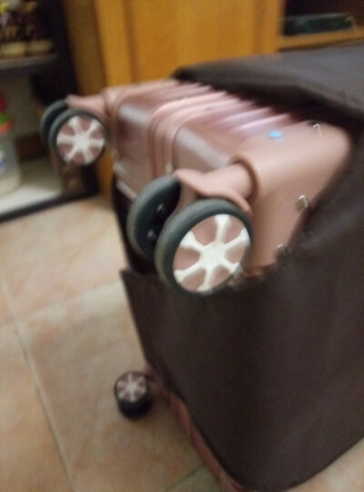 爱路思AIRCROSS 26英寸 防刮铝框拉杆箱万向轮男女旅行箱行李箱登机箱HPY银色 晒单图