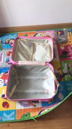 途尊  儿童拉杆箱行李箱子女公主万向轮可爱小孩学生卡通旅行箱男登机拖箱18英寸 赛车 18英寸 晒单图