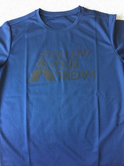 探路者(TOREAD)速干T恤 春夏新款户外透气吸汗短袖t恤 速干 TAJF81937 白色L 晒单图