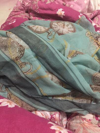 哈伊费舍女丝巾棉麻长款围巾防晒纱巾 10条款式颜色随机 93元 晒单图