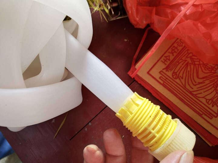 实打实 塑料水管软管 蛇皮管 牛筋管牛津软管胶皮管 家用塑料自来水管4分6分1寸 浇花 接头 晒单图