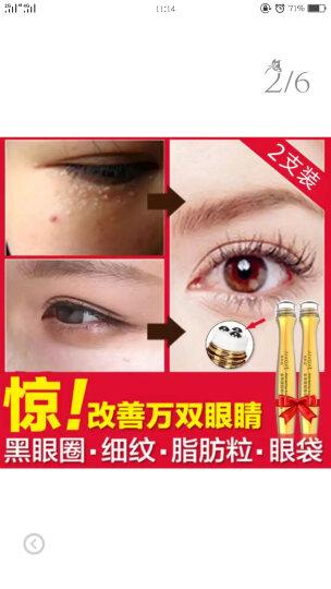 眼霜眼膜贴  去淡化细纹黑眼圈眼袋脂肪粒 男女士保湿补水提拉紧致走珠眼霜 晒单图