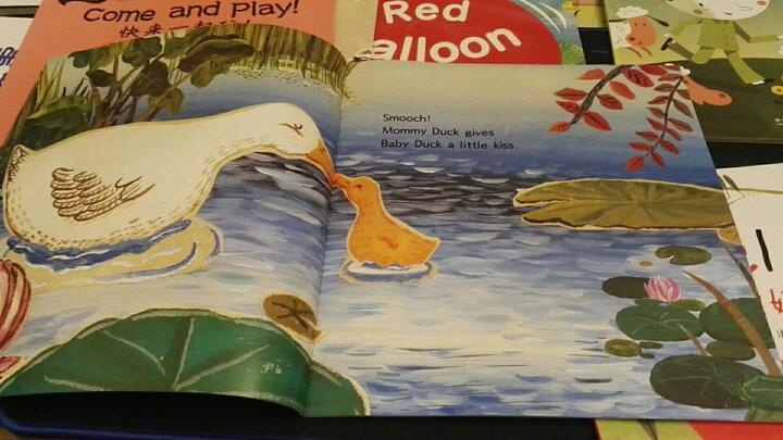 丽声我的第一套亲子英文绘本(4-5岁上 点读版 套装共6册 附光盘) 晒单图