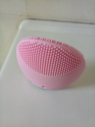 斐珞尔(FOREO)洁面仪 硅胶电动毛孔清洁美容按摩洗脸仪 露娜迷你LUNA MINI 粉红色 晒单图